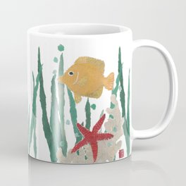 Angelfish, Starfish, Sea Creatures  Coffee Mug