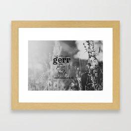 Gerr  Framed Art Print