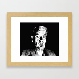 The Man Who Wasn't There (Ed Crane) Framed Art Print