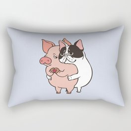 Friend Not Food Rectangular Pillow