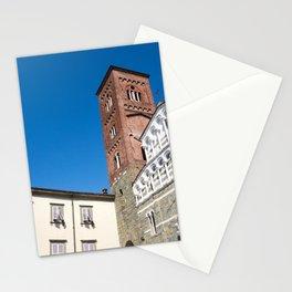 Church of San Giusto Facade Lucca Stationery Cards