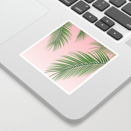 Palm Tree Leaves Sticker