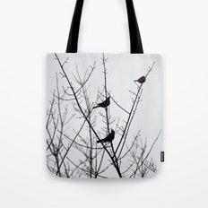 Resting Birds Tote Bag
