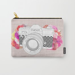 BLOOMING CAN0N Carry-All Pouch