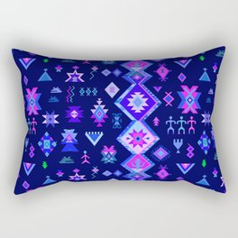 KILIM NO. 6 IN ELECTRIC ORCHID Rectangular Pillow