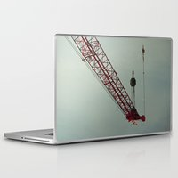 crane Laptop & iPad Skins featuring crane by Kenny Voelker