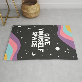 Give Yourself Space Rug