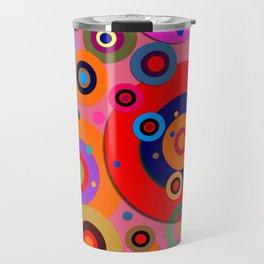 Op Art #18 Travel Mug