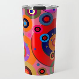 Op Art #18 Travel Mug
