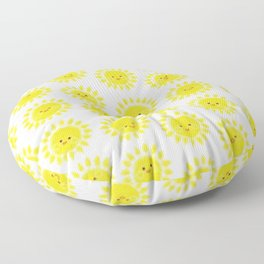 Sunny Days with transparent Floor Pillow