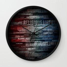 Religious Liberty Wall Clock