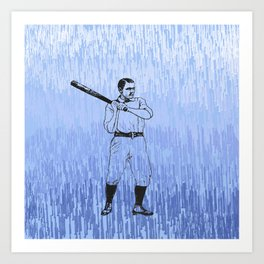 Baseball-The Boys of Summer   Art Print