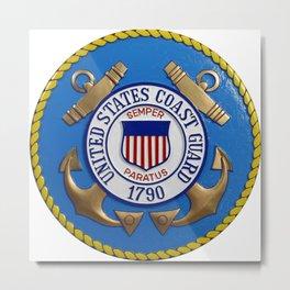 United States Coast Seal Metal Print