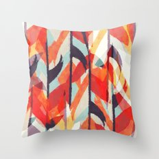 Tropical Jelly Beans Throw Pillow