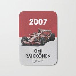 Kimi Raikkonen Bath Mat