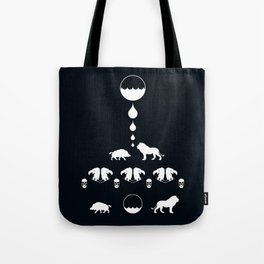 THE LION & THE BOAR Tote Bag