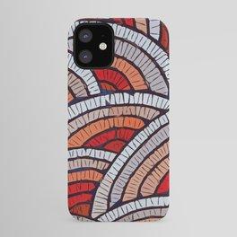 Mosaic fans Terrazzo Blobs iPhone Case