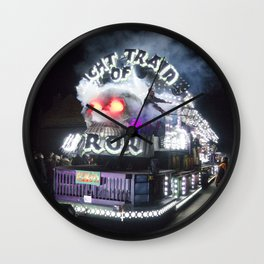 Night Train of Horror Wall Clock