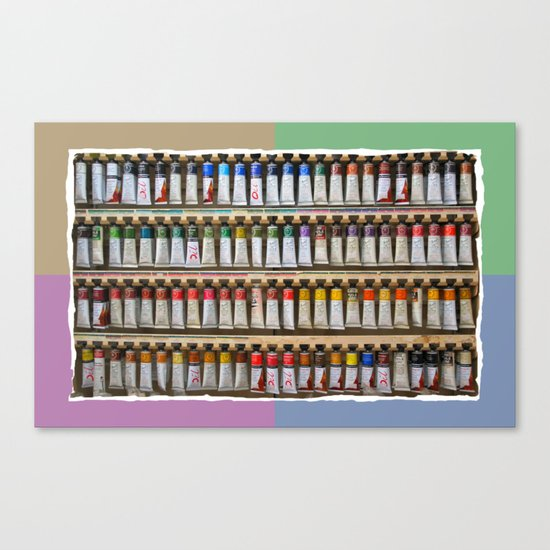 Any color you like Canvas Print
