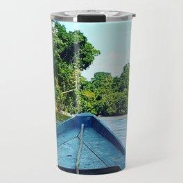 Boat on the Amazonian River Travel Mug