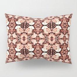Old Rose Roses Seamless Pattern Pillow Sham