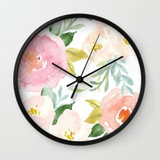 Floral 02 Wall Clock