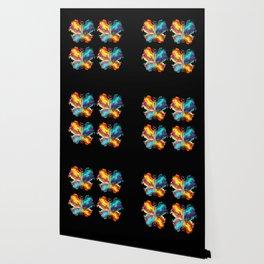 Fluid Butterflies Wallpaper