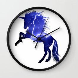 Magic Lightning Unicorn Wall Clock