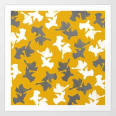 Goldfish Pattern Art Print