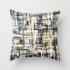 Smoke Digital 1 Throw Pillow