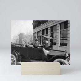 Young Chauffeur - Oklahoma City - 1917 Mini Art Print