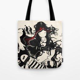 Hare Guitar Tote Bag