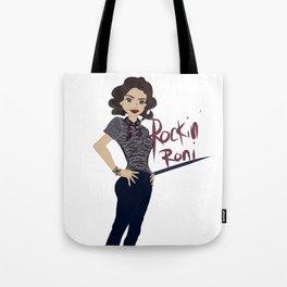 Rockin Roni - Regina - Lana Parrilla, Once Upon A Time Tote Bag
