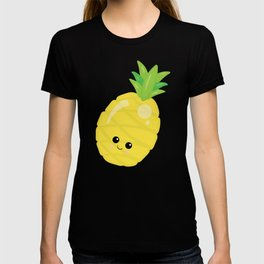 Kawaii Fruit Kawaii Pineapple Cute Cartoon Fruit T-shirt