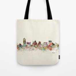 memphis tennessee skyline Tote Bag