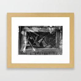 Russian swap meet Framed Art Print