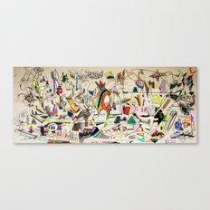 Cold Spaghetti Canvas Print