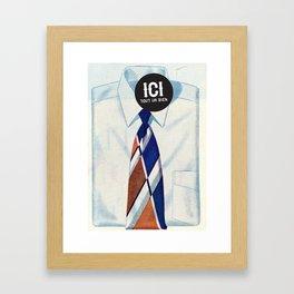 ICI tout va bien // 2 Framed Art Print