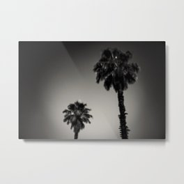 Why are palm trees so damn happy? Metal Print