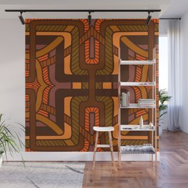 Lattice weave Wall Mural
