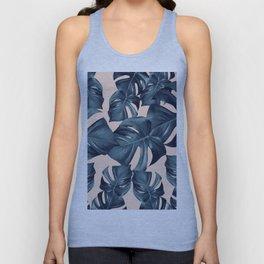 Monstera Leaves Pattern #6 #tropical #decor #art #society6 Unisex Tank Top