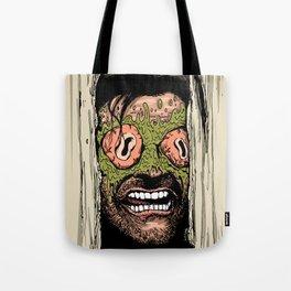Shining Eye Holes Tote Bag