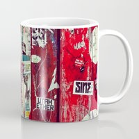 graffiti Mugs featuring Graffiti by Limmyth