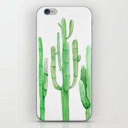 Three Amigos Cacti Green iPhone Skin