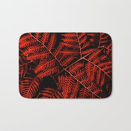 Flaming Bracken Bath Mat