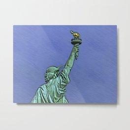 Lady Liberty #6 Metal Print