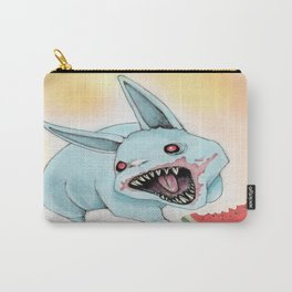 Zombie Bunny Carry-All Pouch