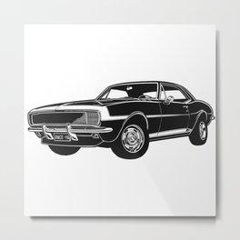 Camaro Muscle Car Metal Print