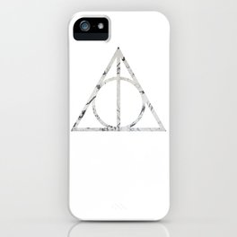 The Deathly Marble Hallows iPhone Case