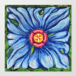 Beaux Arts Blue  Canvas Print